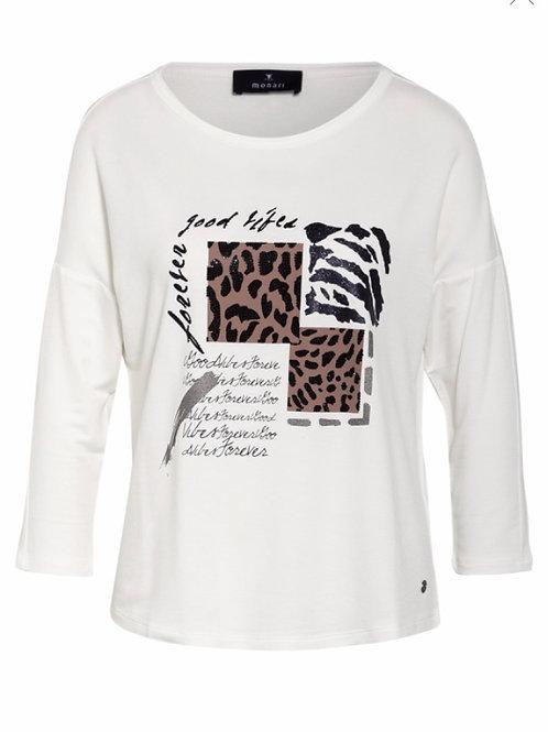 Shirt von Monari Leo
