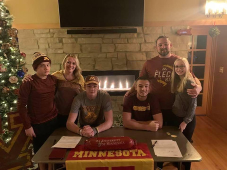 Kaliakmanis Brothers Commit to Minnesota