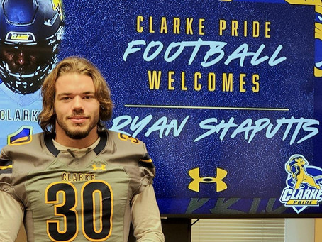 Shaputis to Clarke University
