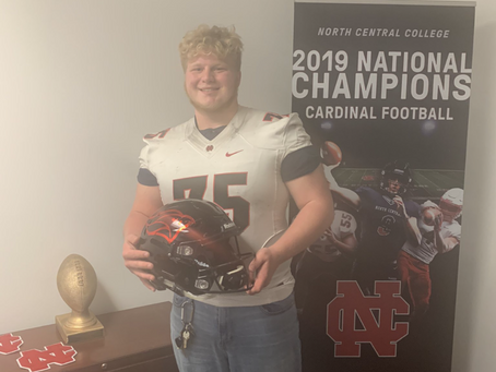 Max Ness Commits to North Central