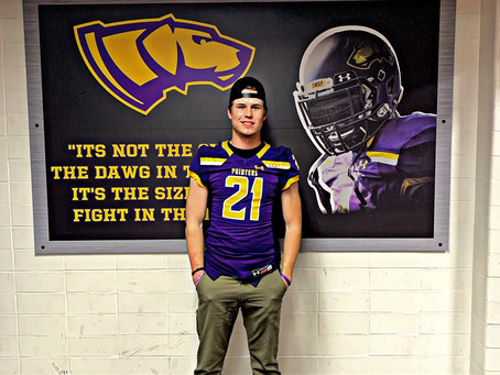 Ethan Holmes commits to UWSP