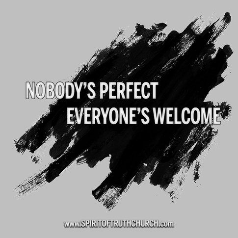 Nobody's Perfect, Everone's Welcome