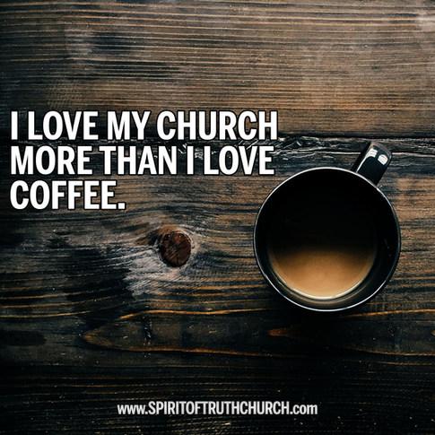 More Than I Love Coffee