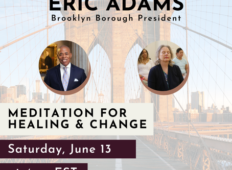 Recent News: Meditation with Brooklyn Borough President Eric Adams