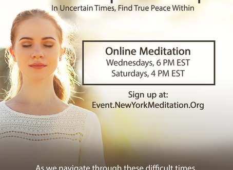 Ongoing Online Meditation