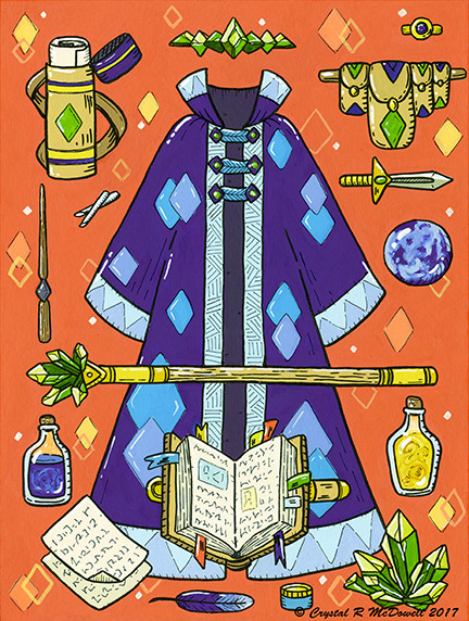 RPG Equip - Wizard