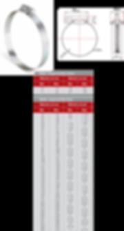Abraçadeira RSF fita 14 em americana