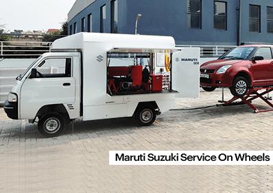 Maruti Service on Wheels