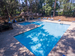 Swimming Pool in Greenwood Forest