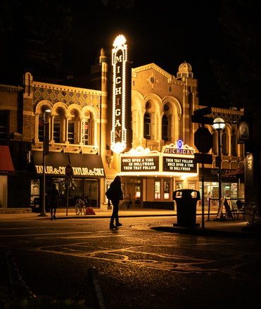 Michigan Theater and State St