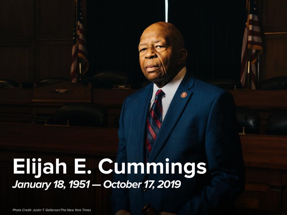 One Year Anniversary of Chairman Cummings' Passing