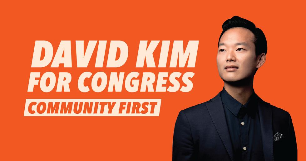 David Kim for Congress