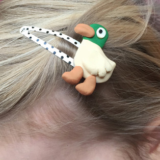 Duck Hairclip