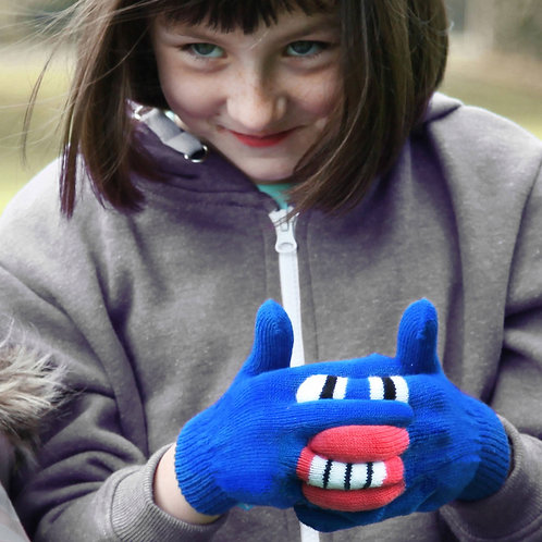 Warmsters gloves, Blue