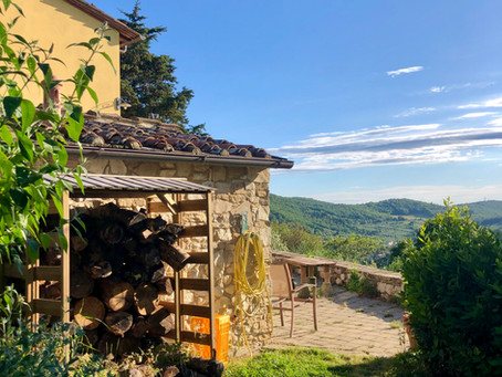 WWOOFing in Tuscany, reveling in the repetitive and embracing change