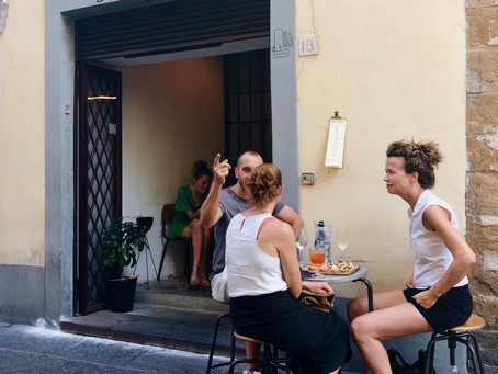 Finding little pockets of peace in crowded Florence
