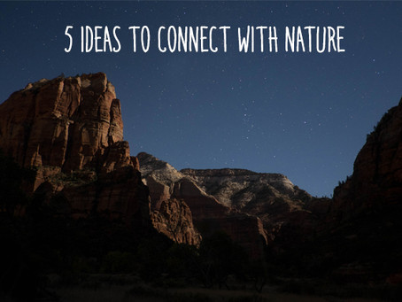 Connect with Nature this Earth Day