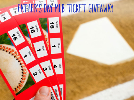 Take Dad Out to the Ballgame on Us!