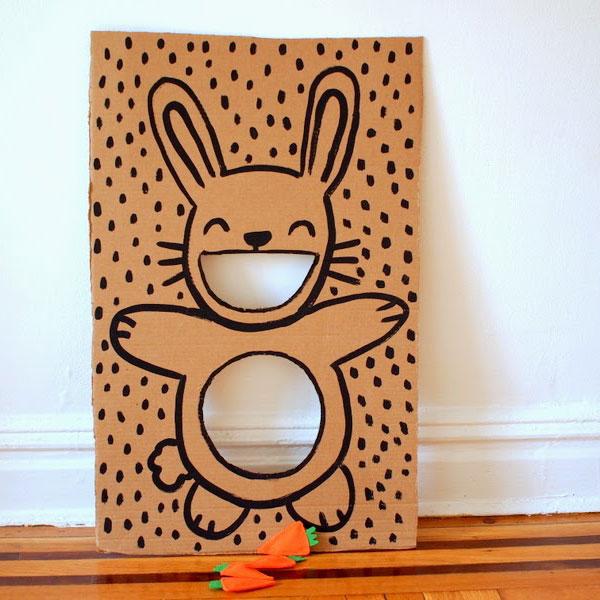 Hungry Bunny Bag Toss