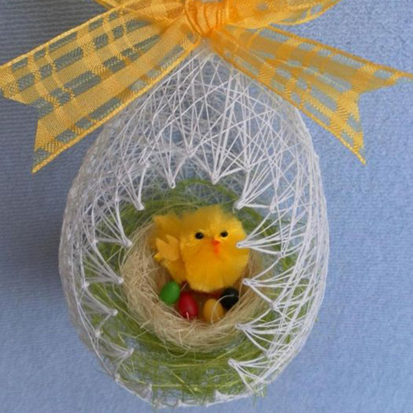 Easter Basket from Thread