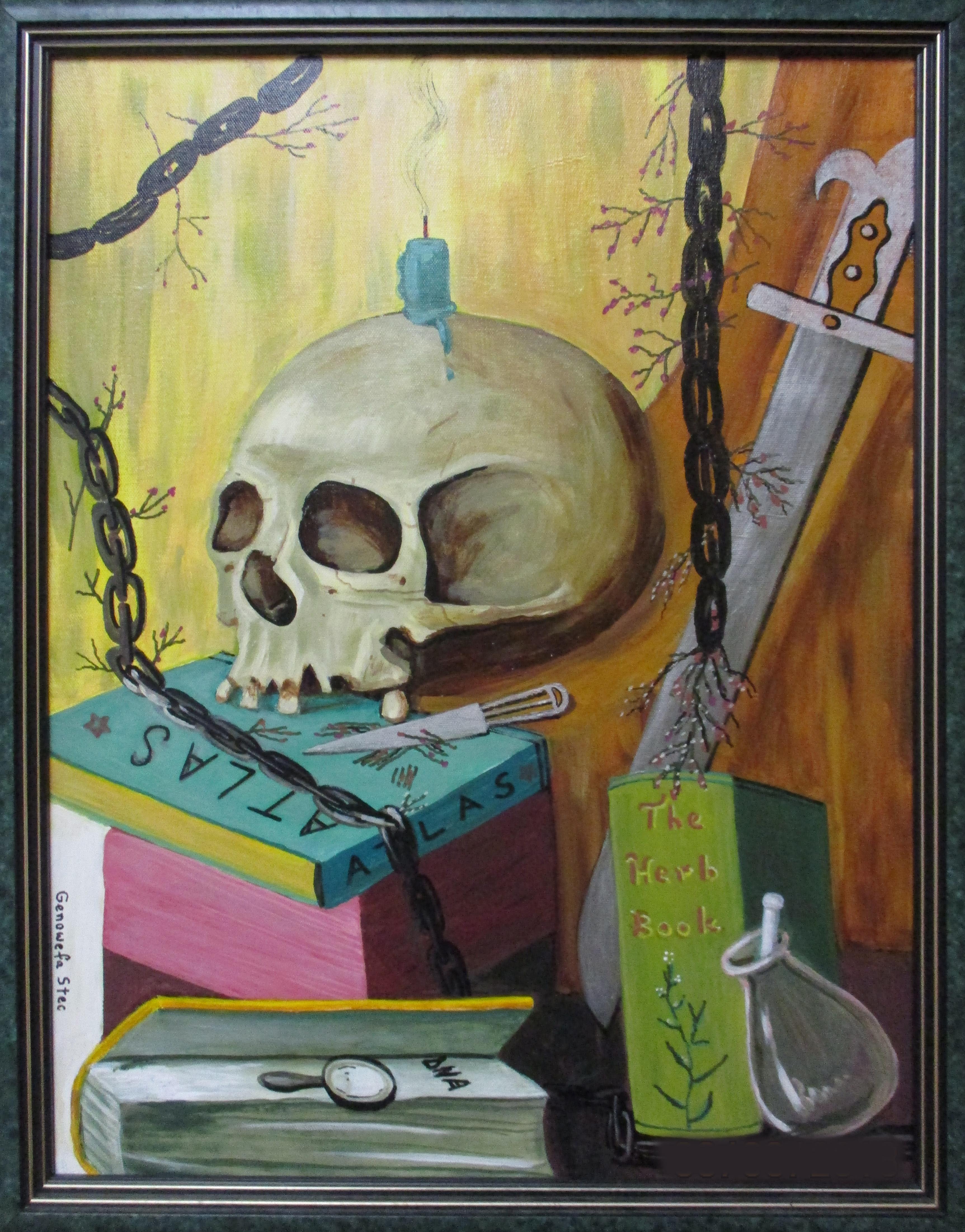 #1 ACRYLICS 1st GenowefaStec _Skull_ #59