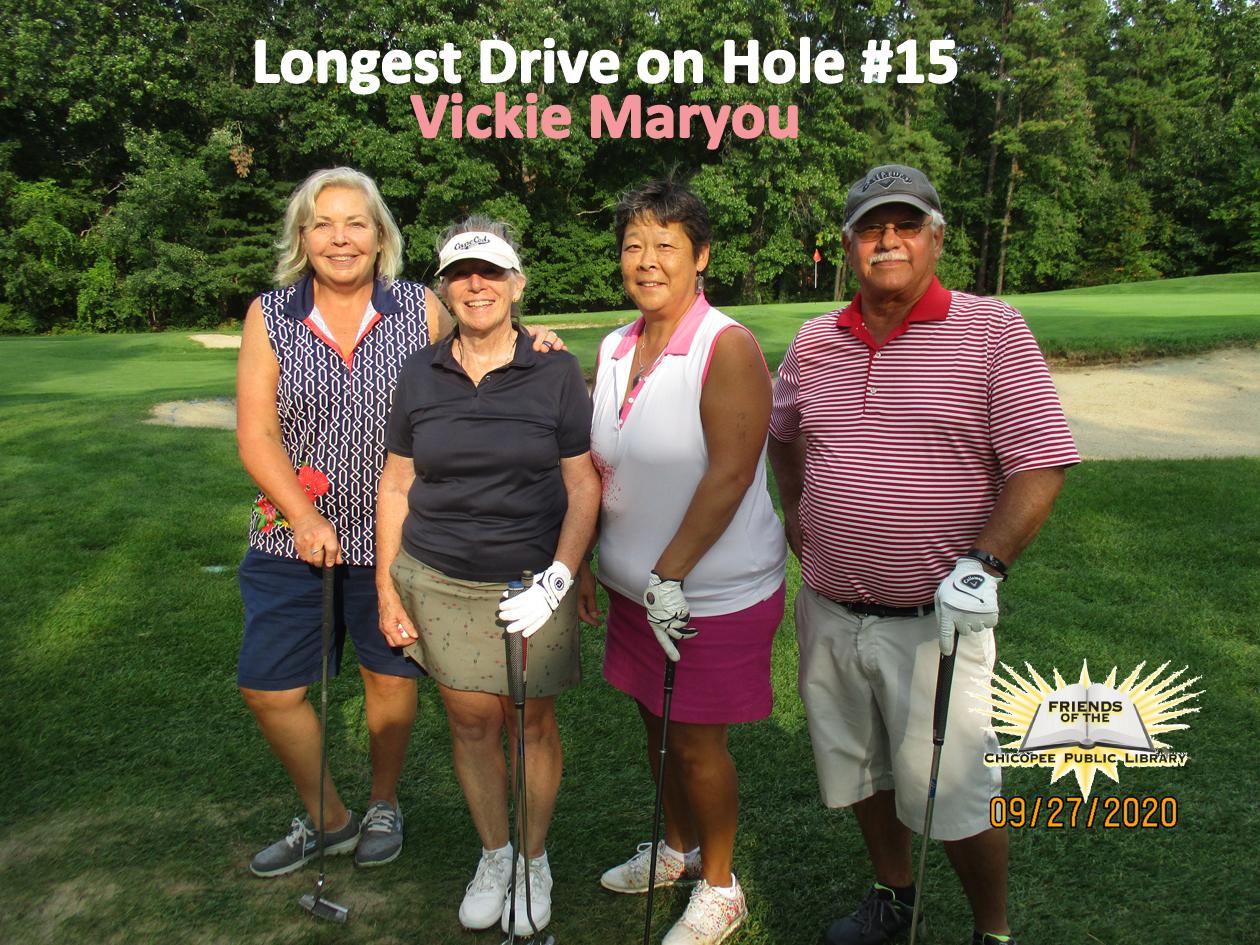 Longest Drive: Vickie Maryou