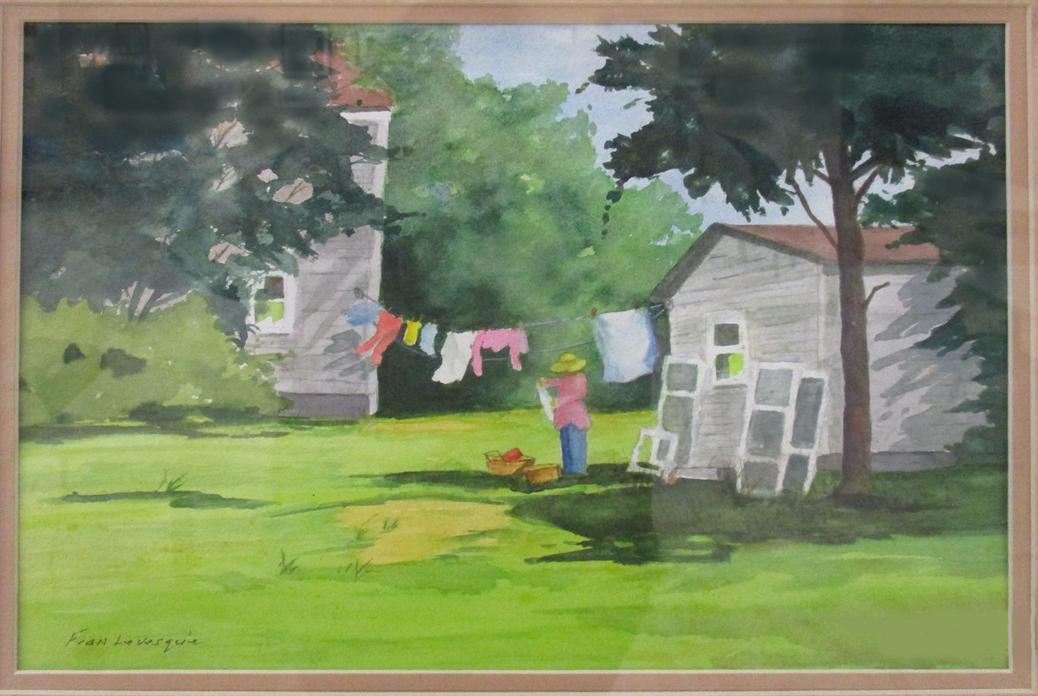 #46_Fran_Levesque___Wash_Day_On_The_Farm