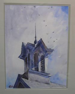 _12 Watercolor 2nd HarryRuddock _OldHadleyCupola_
