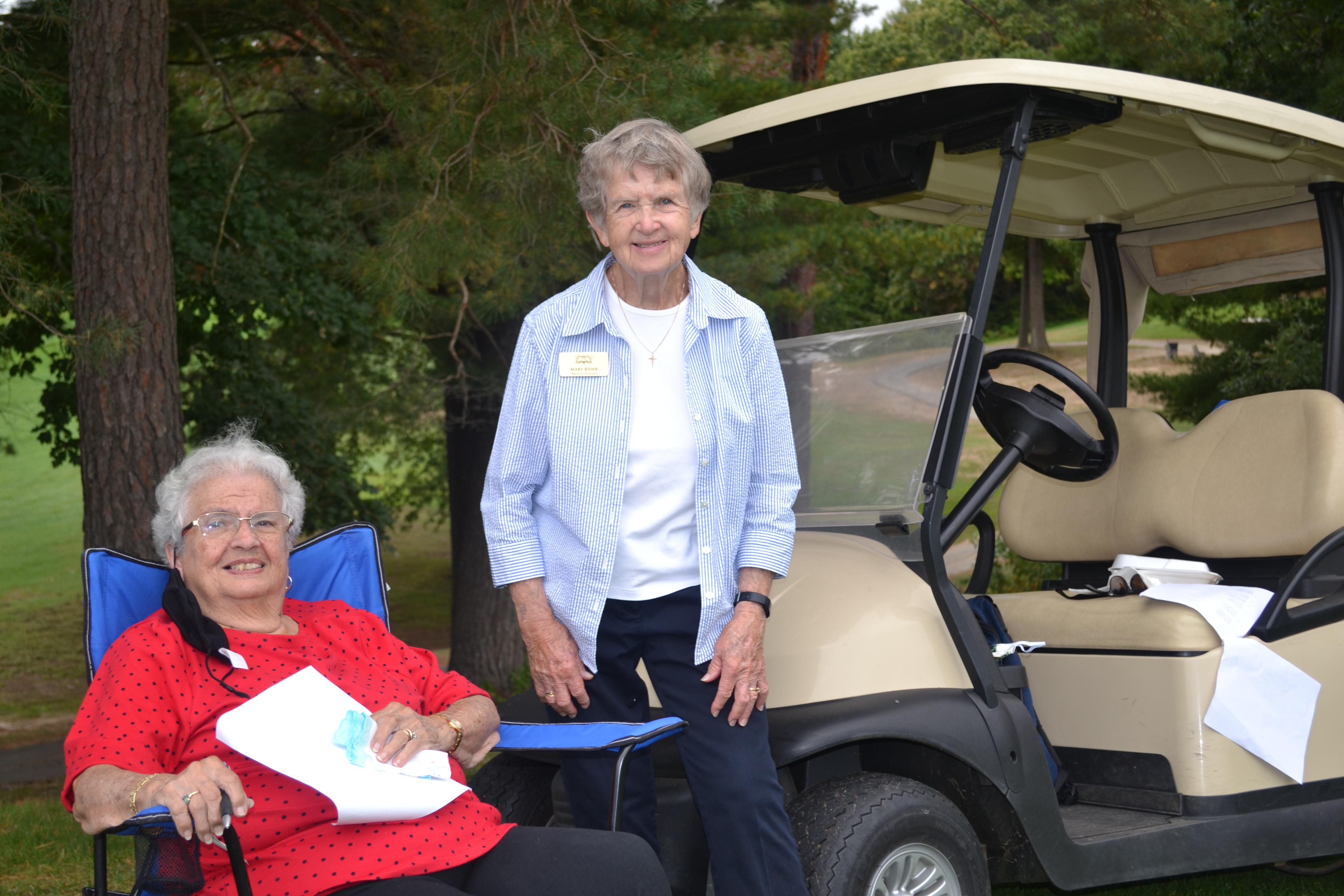 FCPL 2020 Golf MarleneMidura & MaryRider