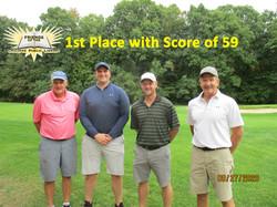 1st Place Score 59