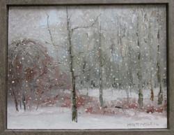 """#20 Merit MatthewMattingly """"SnowStorm"""" Oil #63"""