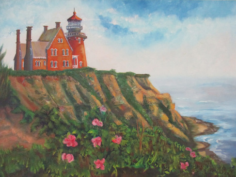 #48_Richard_Tkacz__Old_Block_Island__Oil