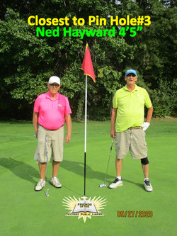 DickLangevin & NedHayward III, Closest to Pin