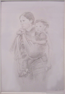 #14_David_Melega__Migrant_Mother_And_Chi