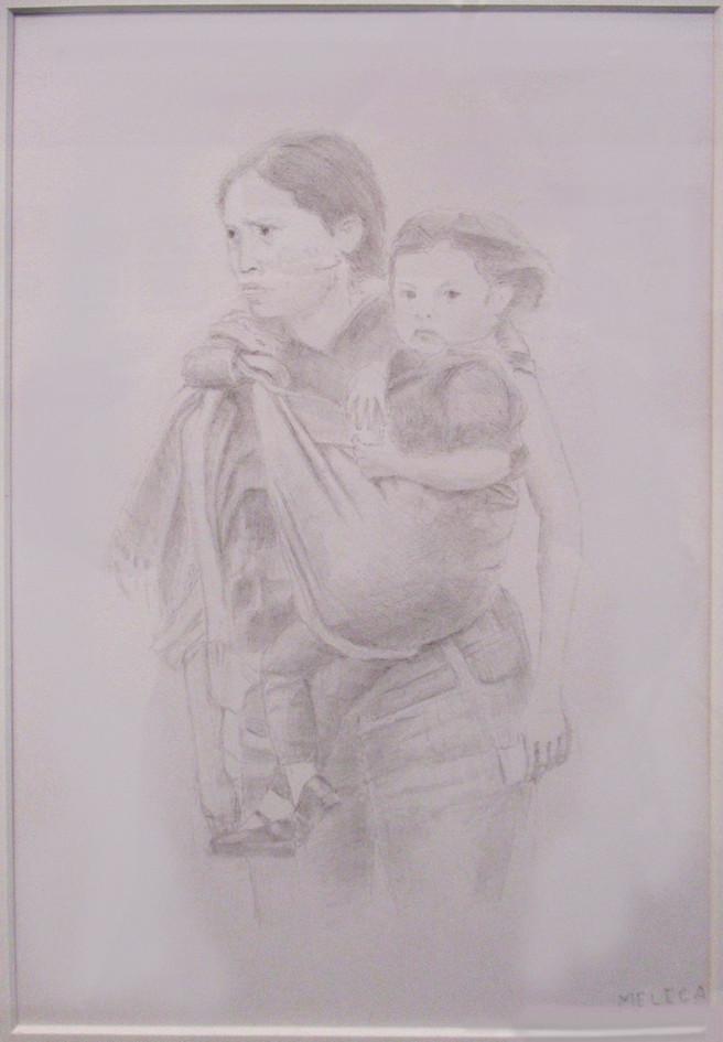 #14_David_Melega__Migrant_Mother_And_Chi