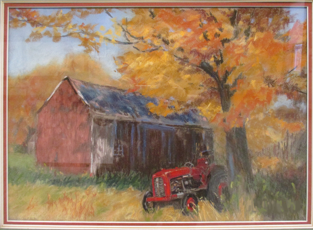 #22_Phyllis_Taylor__The_Old_Barn__Pastel