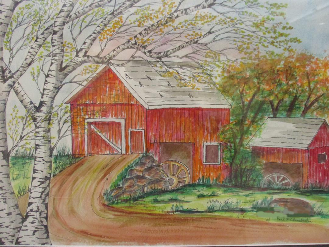 "#47 Earl Chamberlain ""Art By ""Earl"" "" Wa"