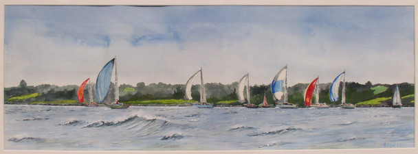 #19_Alan_Izatt___Spinnakers_In_The_Bay__