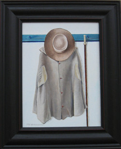 _18 Merit Robert Wordsworth _Amish Attire_ Oil