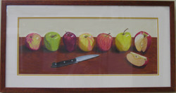 _17 Merit MadelynMiller _An Apple a Day ..._ Colored Pencil