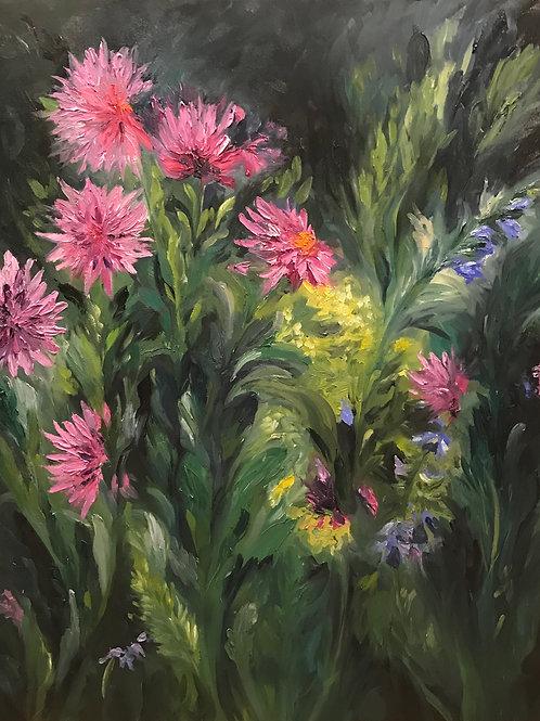Monet's Dahlias