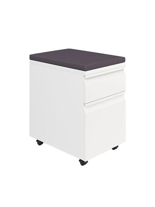 TOTE Mobile Storer - White