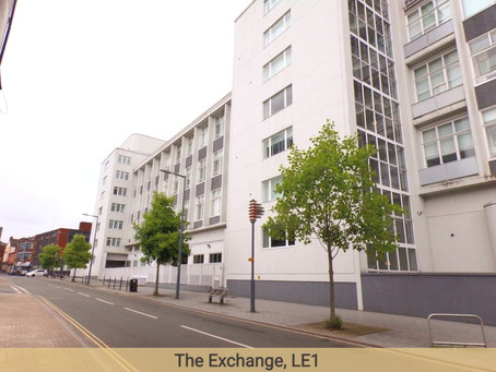 Flats in Leicester - Good Yields of over 7%