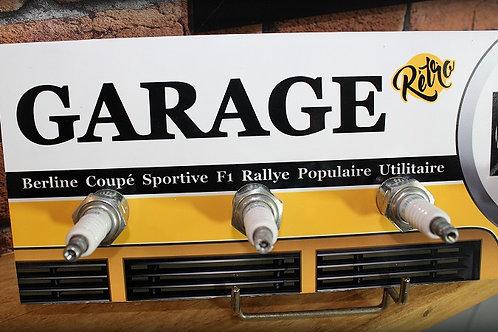"""Accroche clés Renault """"Garage Rétro"""""""