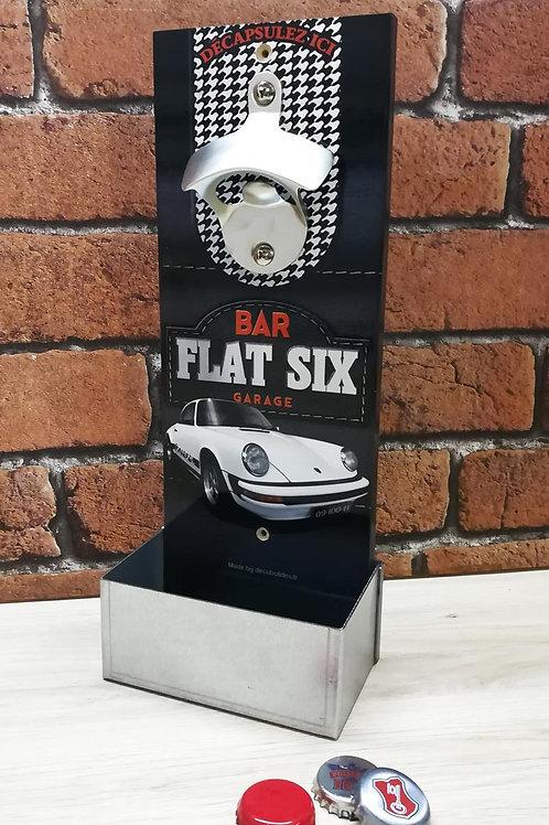 """Décapsuleur mural Porsche 911 """"bar flat 6 garage"""""""
