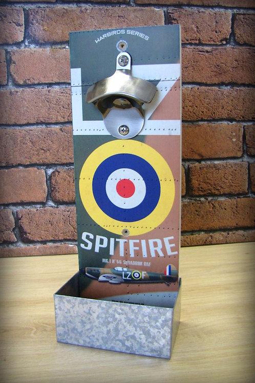 Décapsuleur mural Supermarine Spitfire chasseur Royal air force WW2