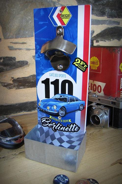 Décapsuleur mural Alpine Renault A110 Berlinette