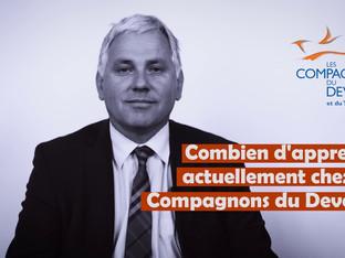 Jean-Claude Bellanger - Secrétaire Général des Compagnons du Devoir nous parle du GAN France