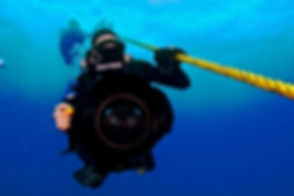 Joe Berg brings his expertise to camera and sound production for Dive Shop The Show