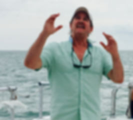 Rich Vaughn, writer, director and producer of Dive Shop The Show, filming out on the water in Key West